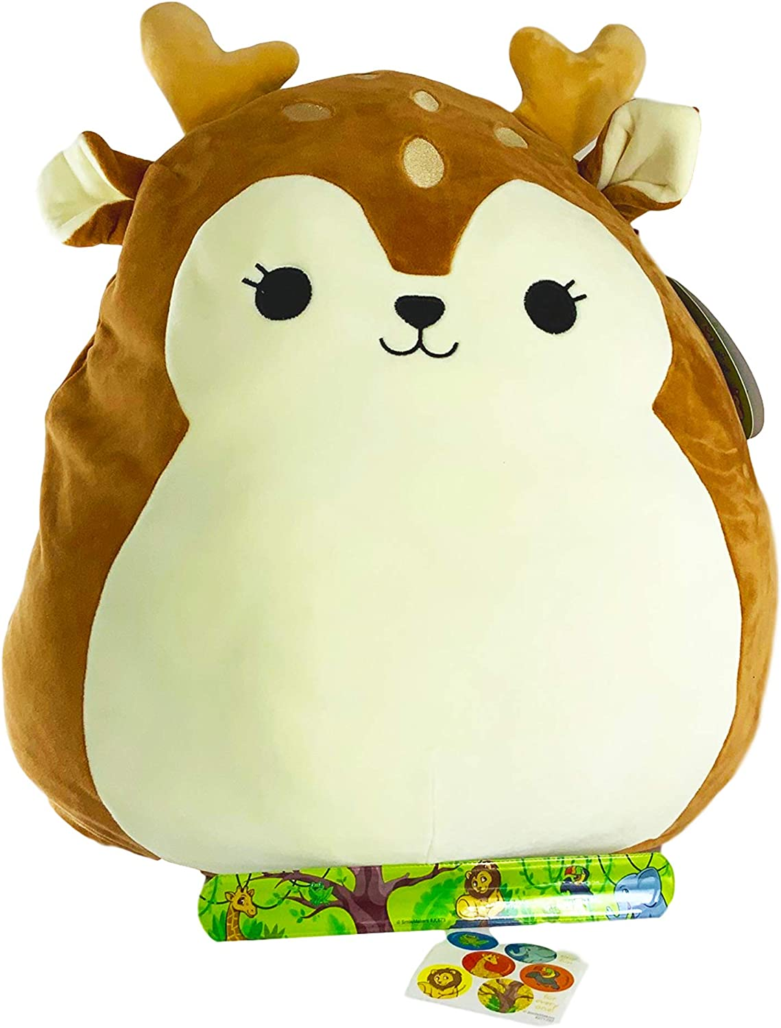 Squishmallows Soft Plush Deer 20 Tall Animal Slap Bracelet Stickers 3 Pc Bundle Dawn Animals Amazon Canada Find plush deer from a vast selection of branded soft toys. squishmallows soft plush deer 20