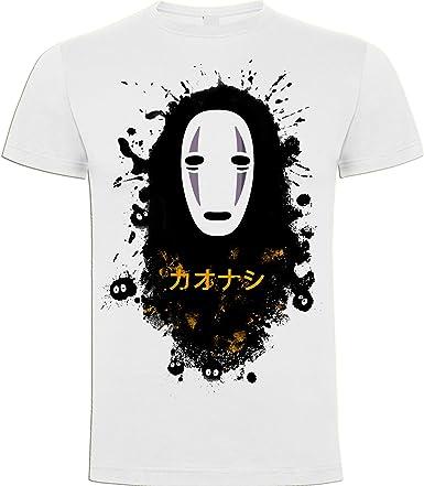Foreverdai Camiseta Fanart Sin Cara Inspirada en Viaje de Chihiro: Amazon.es: Ropa y accesorios