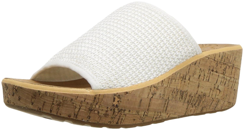 Rockport Women's Lanea Woven Slide Sandal B073ZV6T3V 8 B(M) US|White Woven