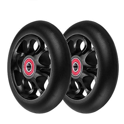 2 ruedas de repuesto profesionales de 100 mm para scooter ...