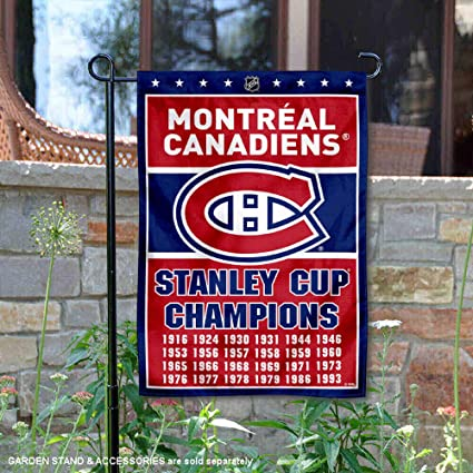 WinCraft Montreal Canadiens Double Sided Garden Flag
