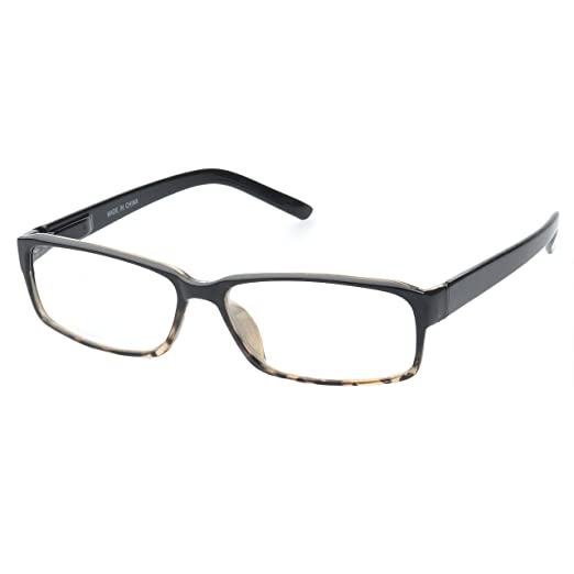 8f1e33dc9c3 Amazon.com  MLC Eyewear  Lynton  Rectangle Reading Glasses +2.00 in ...