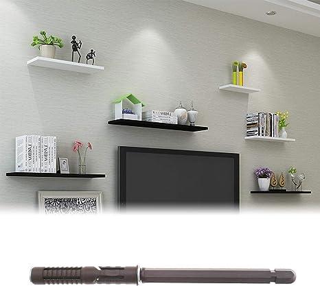 OTOTEC 10 x 100 mm//12 x 120 mm 10 piezas soporte de estante oculto soporte Kit Invisible oculto mamposter/ía persiana pared 10x100mm