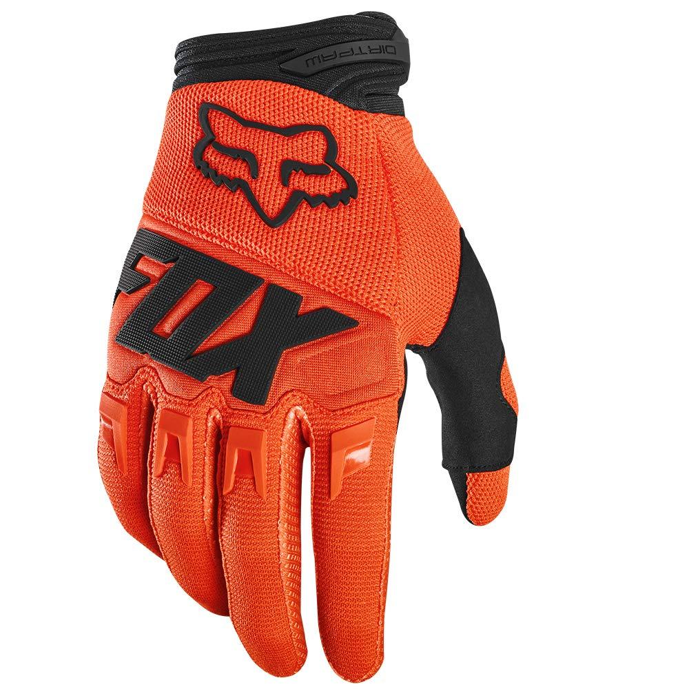 2020 Fox Racing Dirtpaw Race Gloves-Flo Orange-L by Fox Racing