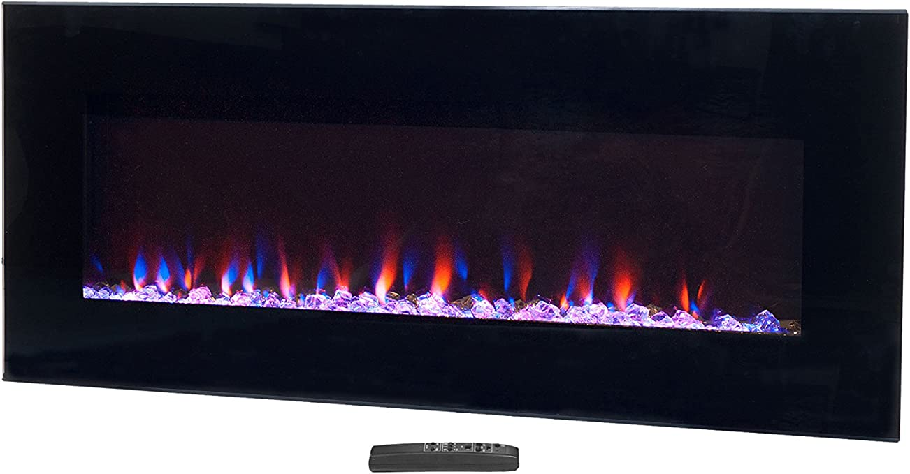 Amazon Com Northwest Electric Fireplace Wall Mounted Led Fire And