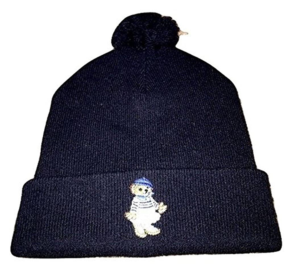 c72c29a17 Polo Ralph Lauren Polo Bear Girl Beanie Wool Hat NWT Winter Hunter ...