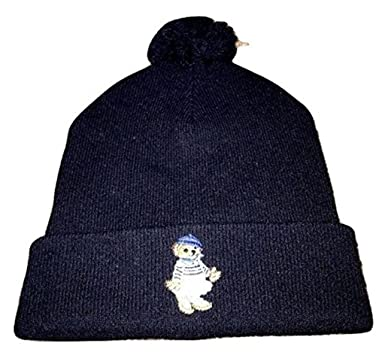 f7c8473d Polo Ralph Lauren Polo Bear Girl Beanie Wool Hat NWT Winter Hunter Navy  Beany at Amazon Women's Clothing store: