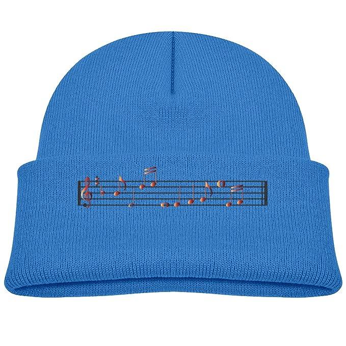 494735ce Amazon.com: Fzjy Wnx Music Symbol Baby Boy Beanie Cap Knit Hat Blue ...