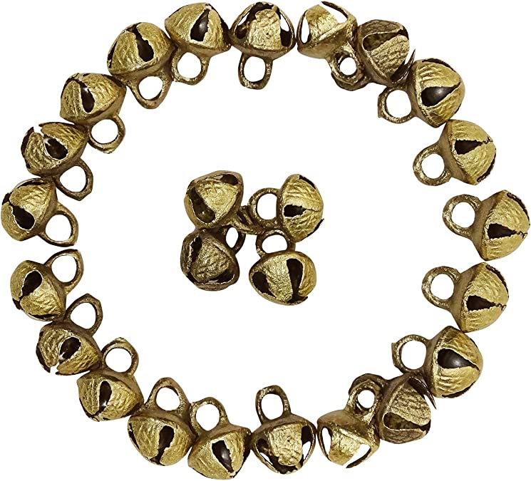 Padma Craft Indian Bohemian Exotic Gypsy Fashion Belly Dance Adjustable Anklet Gold Tone