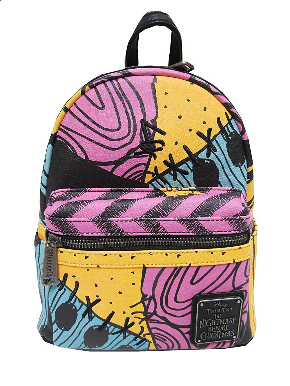 Loungefly x Nightmare Before Christmas Sally Costume Mini Backpack Multi)