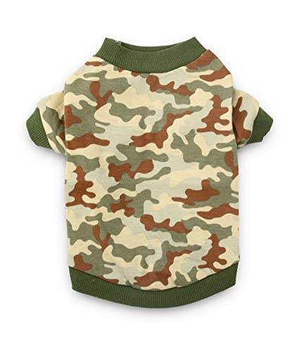 2df4daf70cea DroolingDog Dog Clothes Camo XS Dog T Shirt Pet Tee Shirts Puppy Costume Small  Dogs Boy