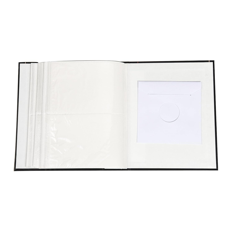 album per le fotografie Arpan contiene 200 foto in formato 10/x 15/cm BLACK FLORAL in design alla moda,/con copertina rigida a finestra