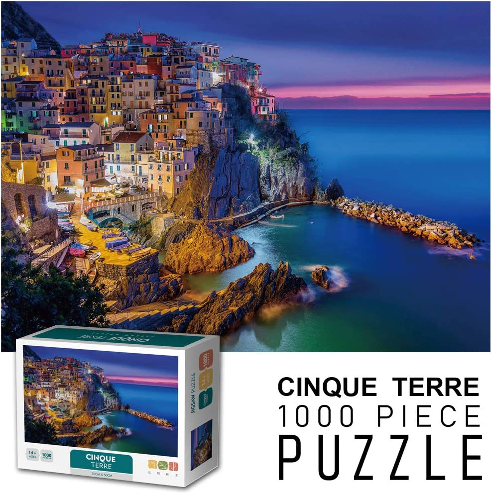 Puzzles for Adults 1000 Piece,Jigsaw Puzzles 1000 Pieces for Adults Kids Large Puzzle Game Toys Gift | Landscape Nature Puzzles | 27 in w x 20 in h