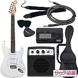 SELDER セルダー エレキギター ストラトキャスタータイプ ST-16/WH 初心者入門ベーシックセット