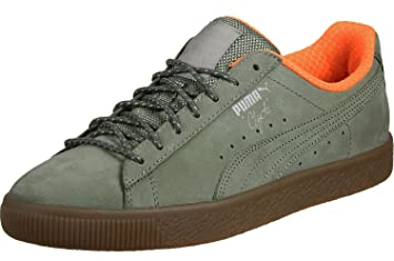the latest a26da e1418 PUMA Clyde Winter Adult's Sneakers (363427 01) (Burnt Olive ...