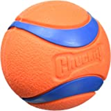 "Chuckit! Ultra Ball, Orange/Blue, Medium 2.5"""