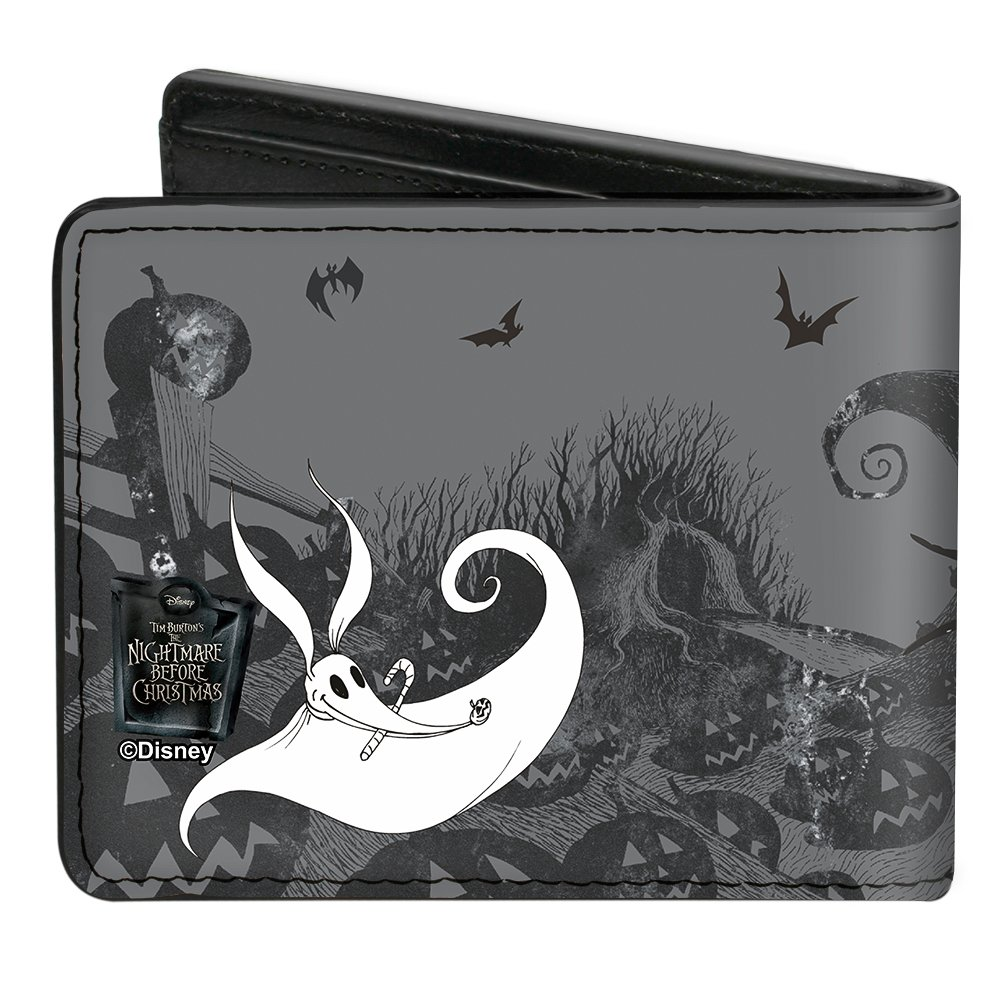 Amazon.com: Nightmare Before Christmas Jack, Sally, Zero Bi-Fold ...