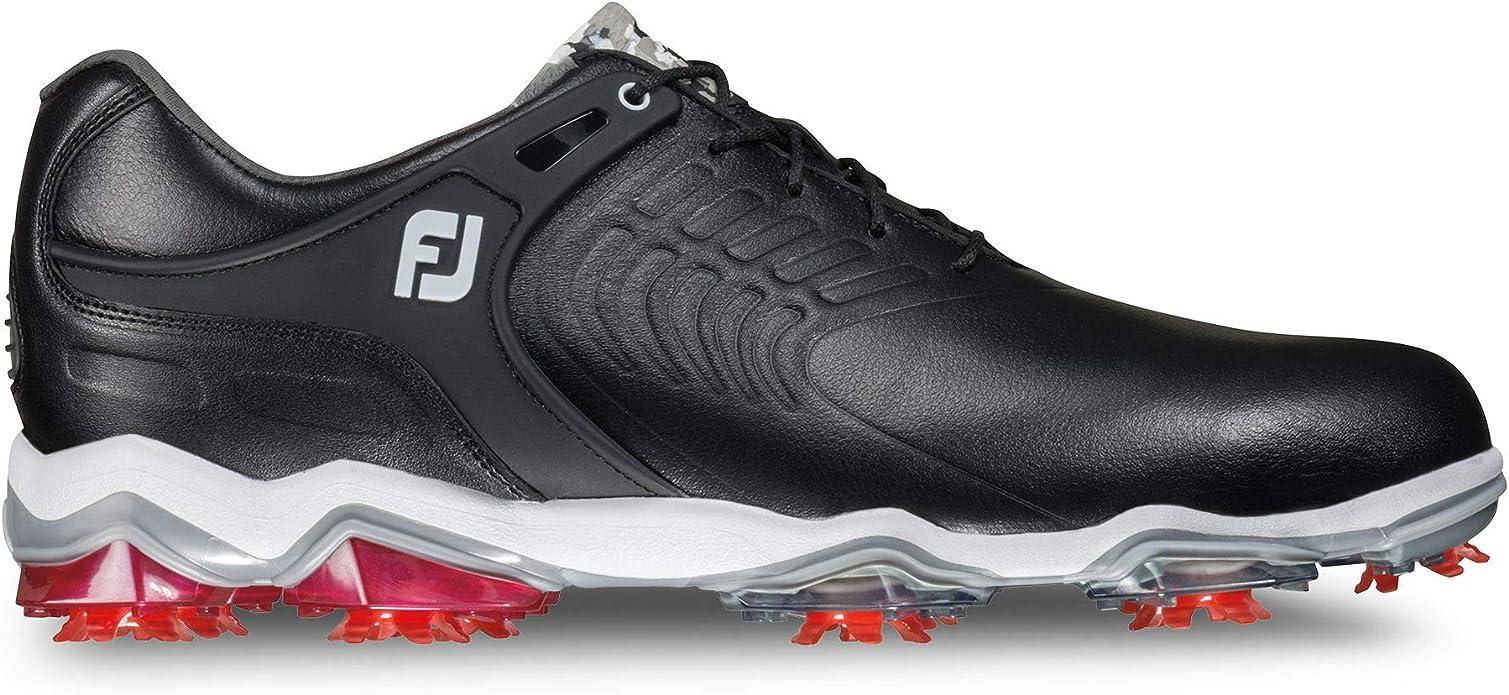 FootJoy Tour S, Horma Ancha. Zapatillas de Golf para Hombre, Negro (Negro 55304), 47 EU: Amazon.es: Zapatos y complementos