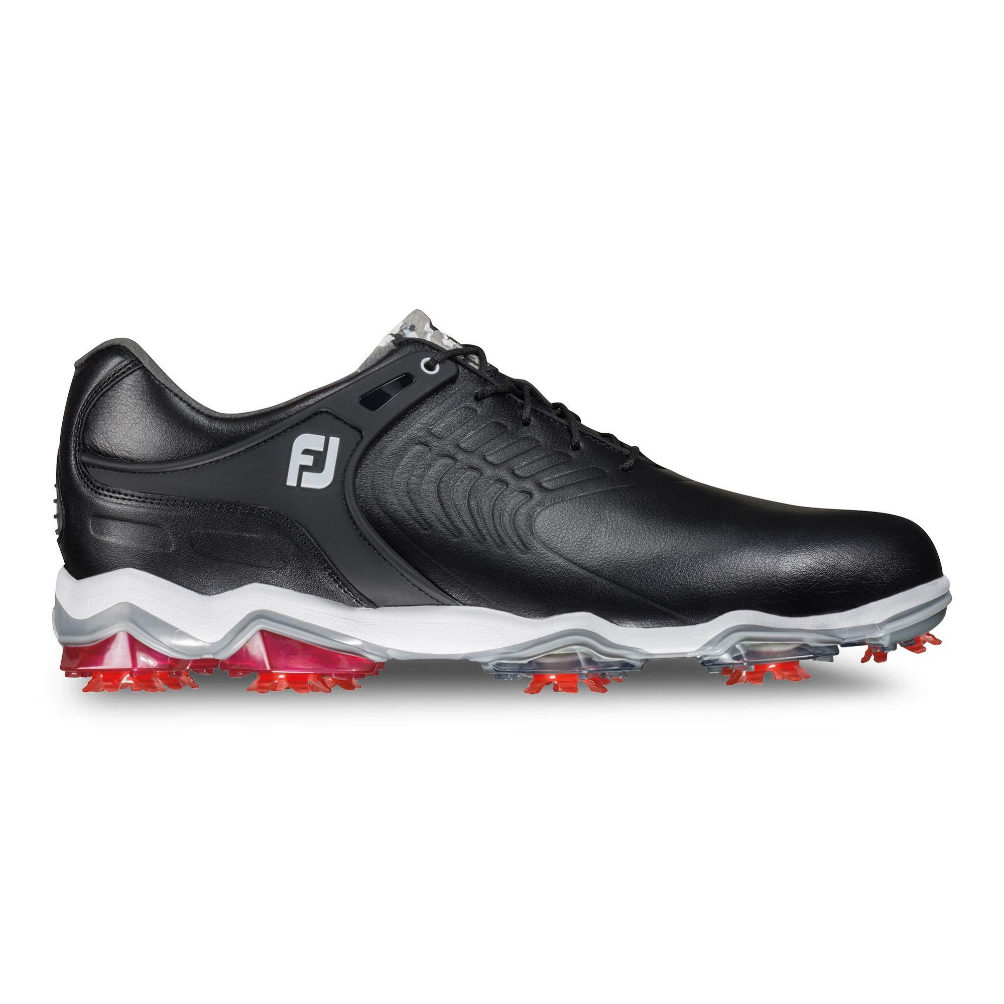 FootJoy Men's Tour-S Golf Shoes Black 9.5 W US by FootJoy