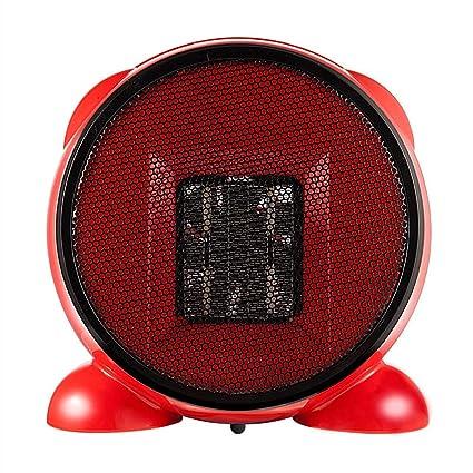 CATLXC Mini Portátil Heater Bajo Consumo con Adaptador De Corriente - Estufa Eléctrica Calefactor Ahorro De