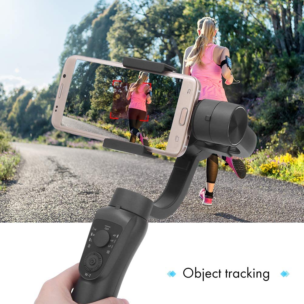 Gimbal Stabilizer for Phone,Three-axis Anti-Shaking Phone Ballhead Handheld Stabilizer for Multifunctional Shooting