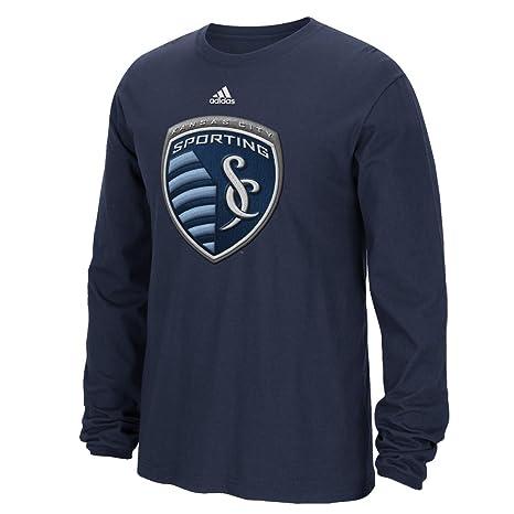 Adidas Sporting Kansas City MLS High End Parche Camiseta de Manga Larga para Hombre