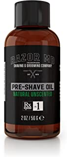 product image for Razor MD Pre-Shave Oil, Natural Unscented (2 fl. Oz) - Shaving Tools & Accessories for The Modern Man