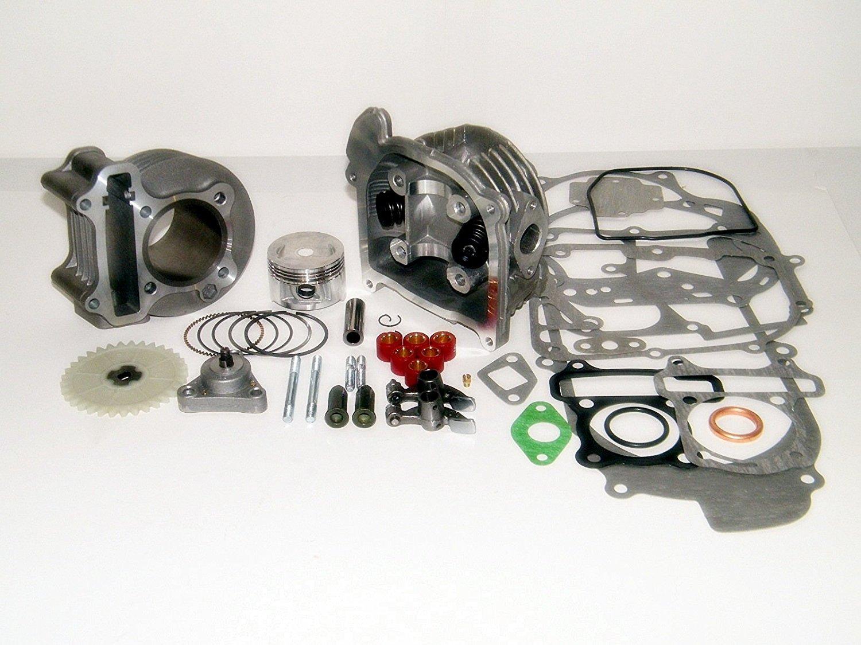 Amazon.com: Kit de rendimiento de 100 cc Big Bore GY6 50 cc ...