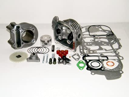 Amazon.com: Kit de rendimiento de 100 cc Big Bore GY6 50 cc ...