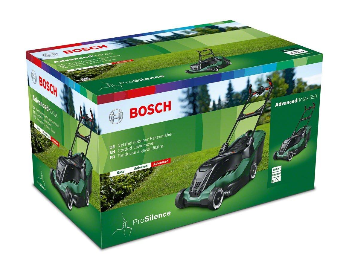 Bosch Cortacésped eléctrico AdvancedRotak 750, 1700W, 750m², caja colectora de 50 l, caja de cartón: Amazon.es: Bricolaje y herramientas