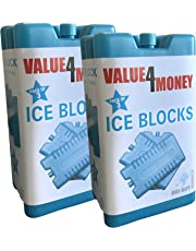 Value 4 Money Freezer Blocks Cools & Keeps Food Fresh 6 pack