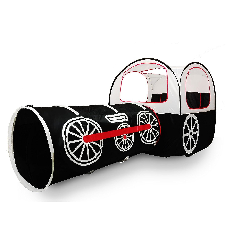 [ALPIKA]ALPIKA Train Kids Play Tent, Pop Up PolyesterTent, Tunnel and Ball Pit 02.L.68100-02 [並行輸入品] B01M8KQPO3