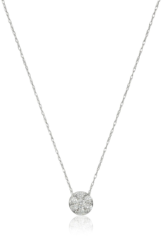 Amazon Collection 10k White Gold Split Shank Black and White Diamond Ring