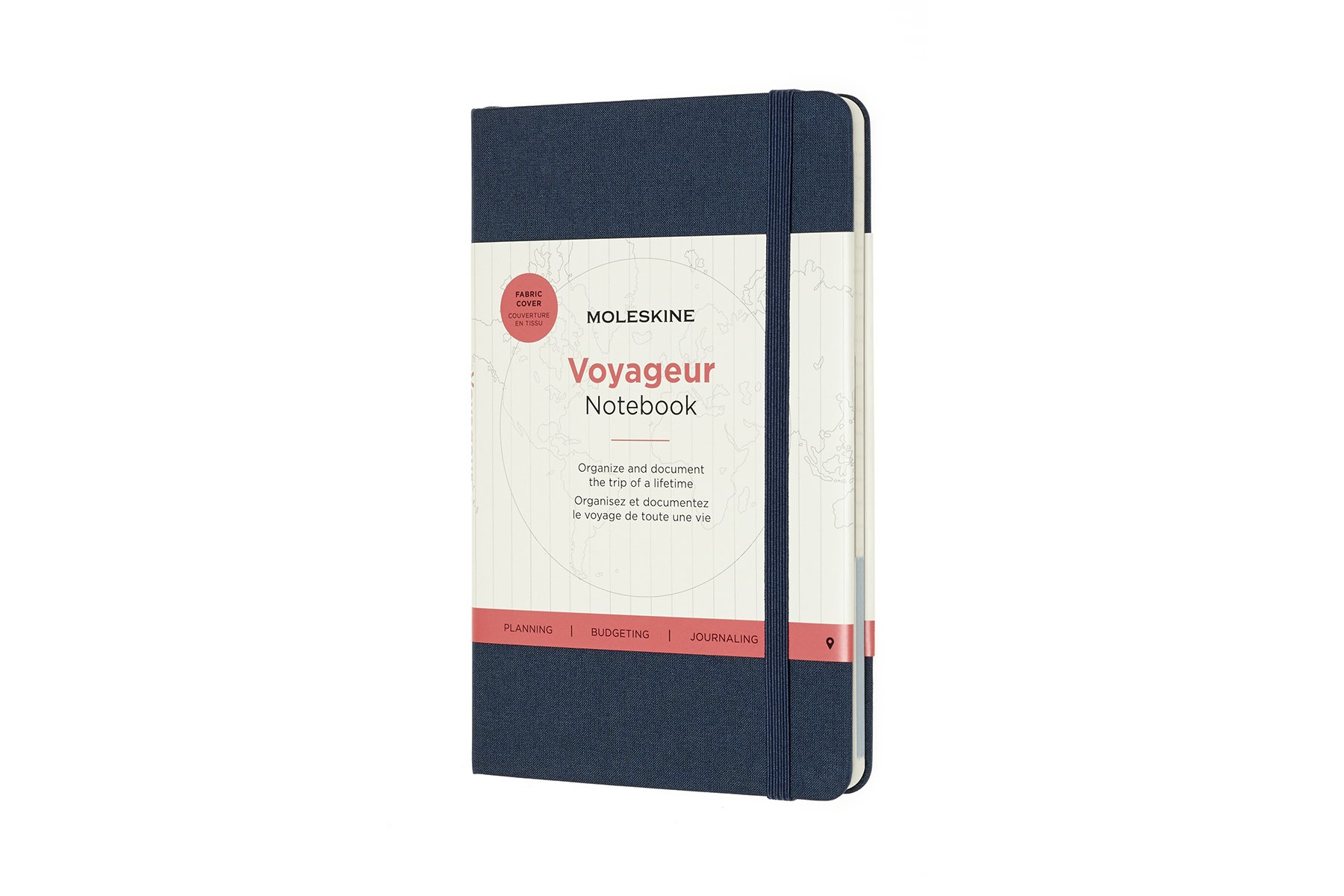 Moleskine Voyageur Hard Cover Notebook, Mixed...
