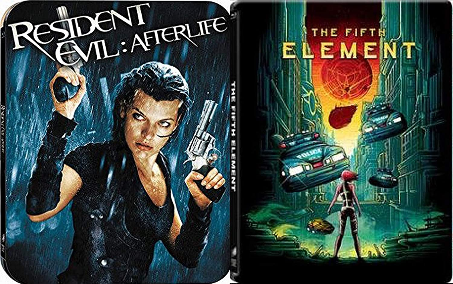 5th Steelbook Zombies Resident Evil Afterlife Milla Jovovich