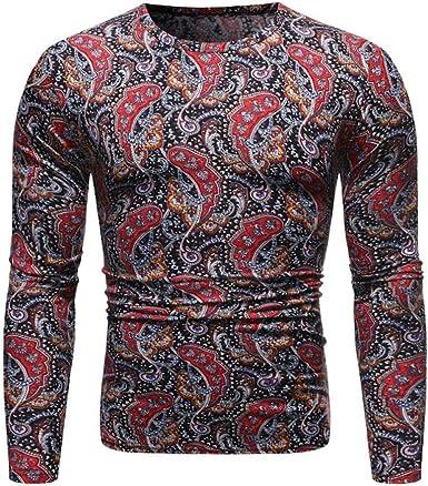 Primavera y otoño de manga larga camiseta, cuello redondo ...