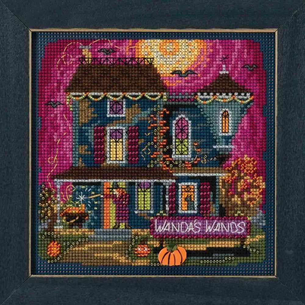 Mill Hill Wandas Wands Beaded Counted Cross Stitch Halloween Kit 2018 Buttons /& Beads Autumn MH141822