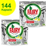Fairy Platinum - Pastillas para lavavajillas todo en uno, 100 ...