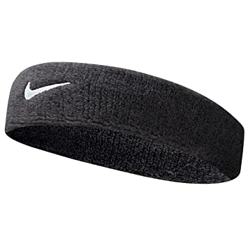 Nike Swoosh Headband (Black White 89eedc0572c