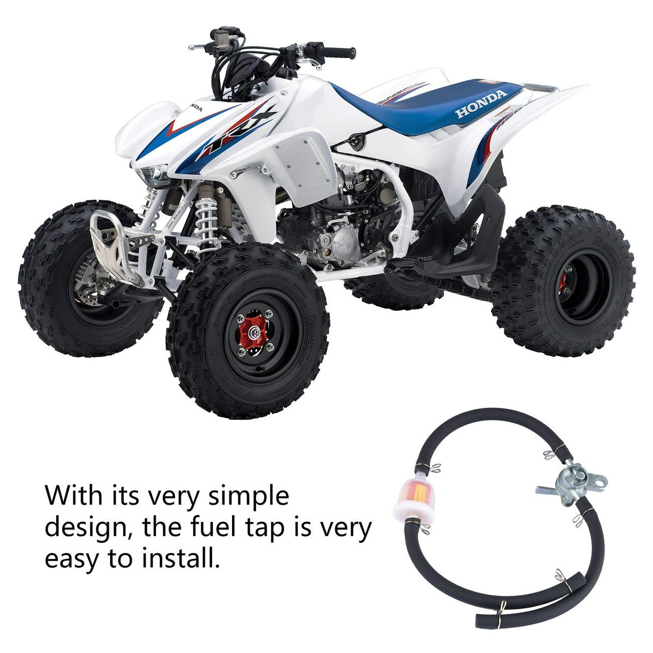 Hose Pit Soil Bicycle Atv Motorcycle Off-Road Vehicle Filter Elviray Inline Fuel Tank Faucet