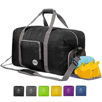 Amazon.com: WANDF - Bolsa de viaje plegable de 60L ~ 120L ...