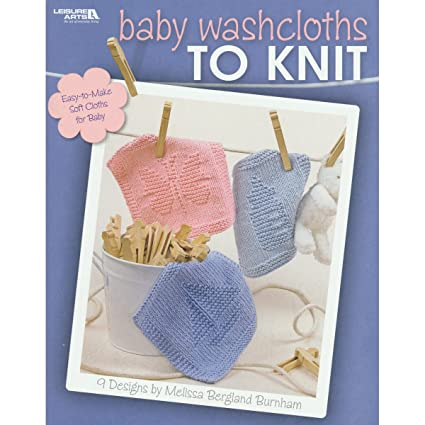Amazon Leisure Arts Baby Washcloths To Knit