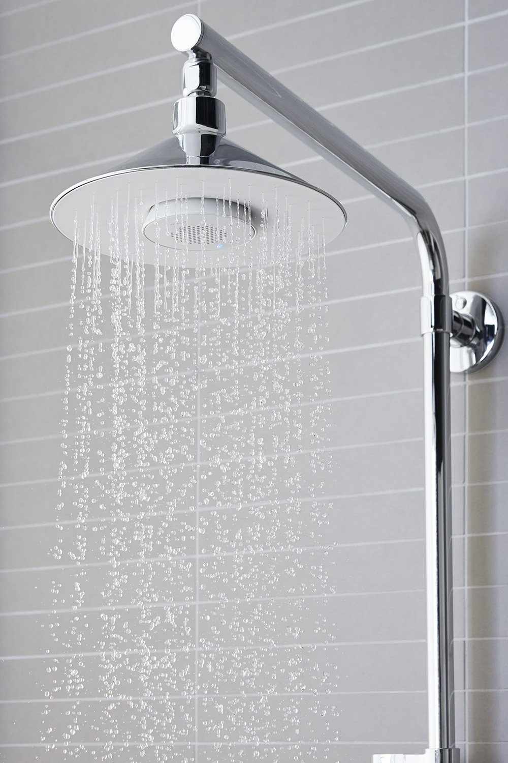 KOHLER K-99105-CP MOXIE 2.5 GPM Rainhead with Wireless Speaker ...