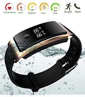 Bluetooth Smart Watch Waterproof Smart Bracelet Heart Rate Monitor Wristband Fitness Tracker Sleep Monitor Pedometer Call