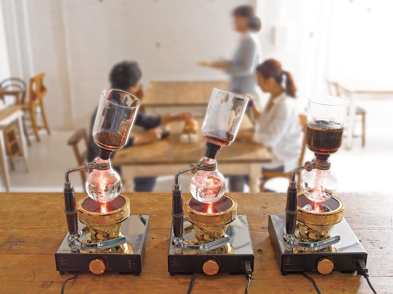Transparente Hario sif/ón de Cuenco Inferior para cafetera de 3/Tazas