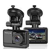"Shingtak Car Dash Cam Full HD 1080P Car Driving Recorder 2.45"" IPS Screen 170 Degree Wide Angle Lens Car Black Box Dashboard Camera Recorder Built in G-Sensor Motion Detection Loop Recording Vehicle Dash Cam"