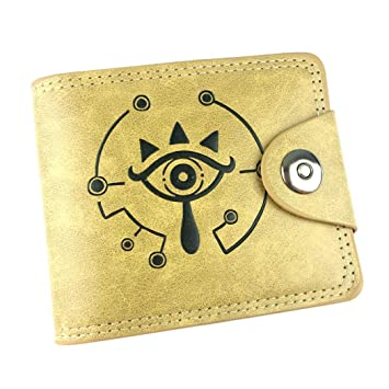 Cosstars The Legend of Zelda Juego Cartera de Cuero Artificial Monedero Tríptico Billetera Clásico Portatarjetas para Hombre /2: Amazon.es: Equipaje