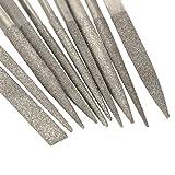 10 PCS Diamond Needle File Set for Guitar Frets