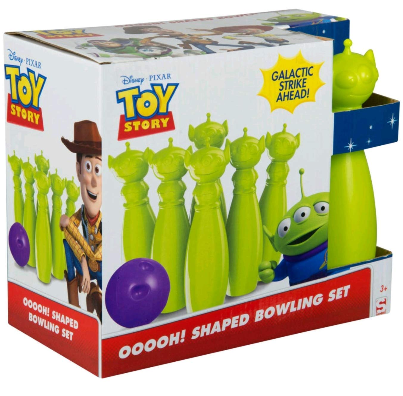 Sambro Toy Story Aliens Bowling Set, Featuring Woody, Buzz Jessie by Sambro