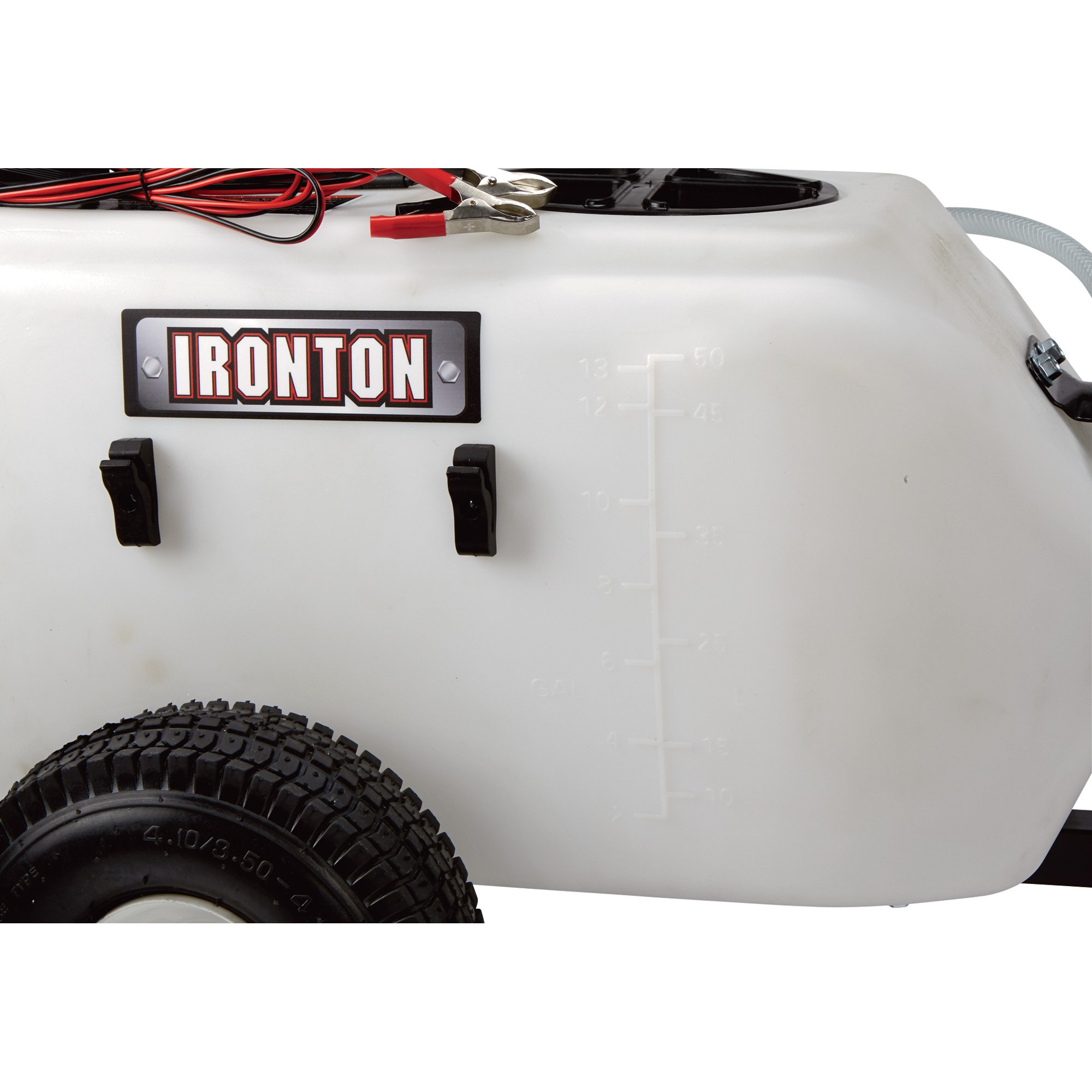 Ironton Tow-Behind Broadcast and Spot Sprayer - 13 Gallon, 1 GPM, 12 Volt DC by Ironton